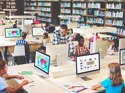 groupes scolaires location classe informatique